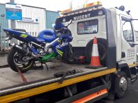 Motorbike recovery Dublin services.