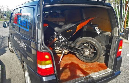 motorbike Tow, bike transport, motorbike recovery, bike rescue service in Dublin
