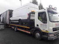 van towing