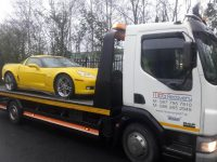 professional car towing