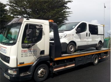 MBS Car Recovery Tow Truck Dublin.